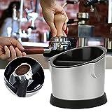 Estructura compacta Elegante contenedor de posos de café, caja de posos de café, resistente y duradero para cafeterías, tiendas de té con leche, accesorios de café para el hogar