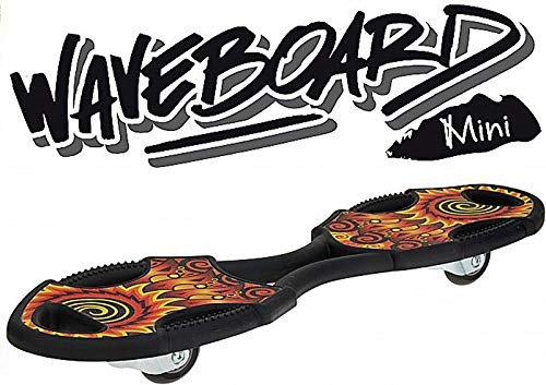 XQ Max Kinder Mini Waveboard, Schwarz, One Size