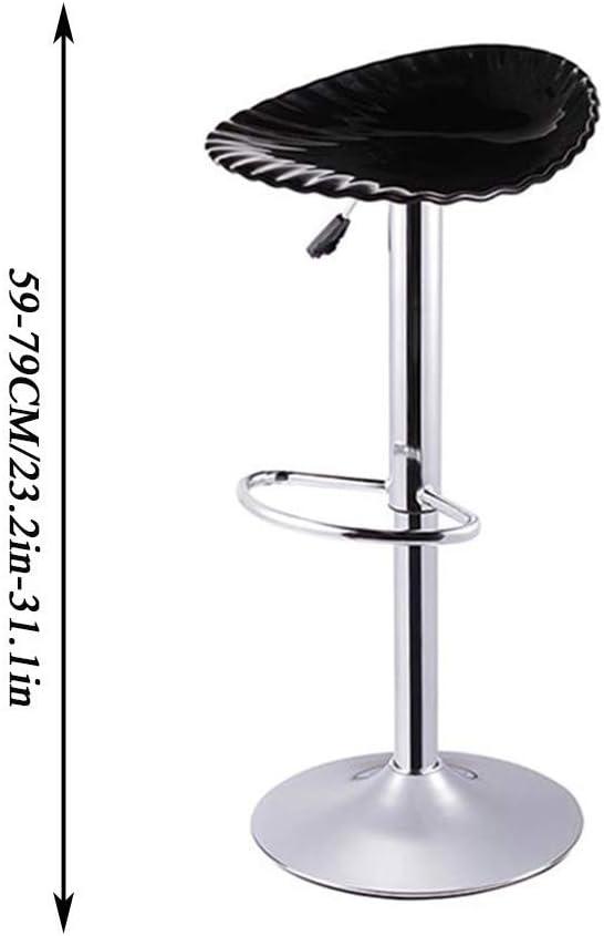 BannerZhu Tabouret tournant à 360 degrés, chaises réglables, Tabouret de comptoir Hauteur, siège Profond, Tabouret réglable, Fauteuil de beauté, pour café, Bar,F D