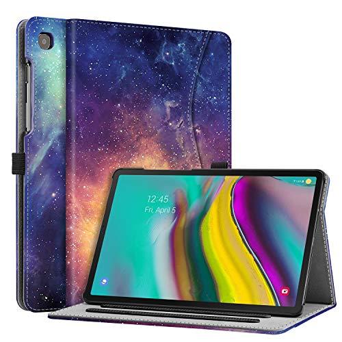 Fintie Hoes Case voor Samsung Galaxy Tab S5e 10,5 Inch SM-T720/T725 2019 Tablet, Multi-hoek Kunstleer Beschermhoes met Documentsleuven en Automatische Slaap-waak Functie, Galaxy