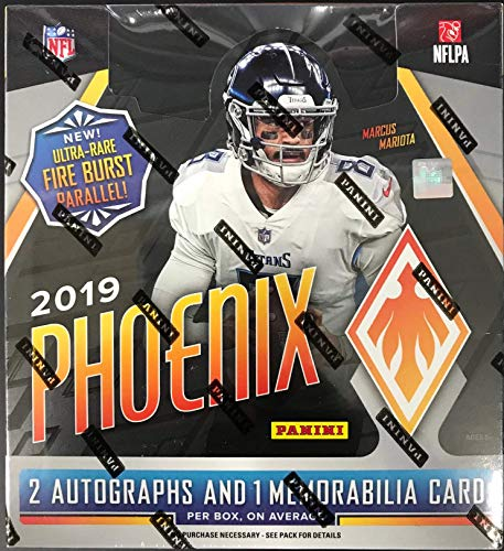 2019 Panini Phoenix Football Factory Sealed Hobby Box