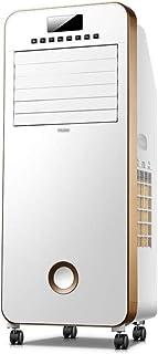 Climatizador Evaporativo,Climatizador Portátil, Ventilador de aire acondicionado evaporativo 3 en 1 móvil de 3 velocidades, purificador de humidificación, enfriador de aire con control remoto