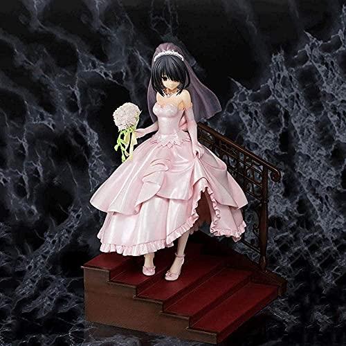 Chica Anime Con Vestido De Novia