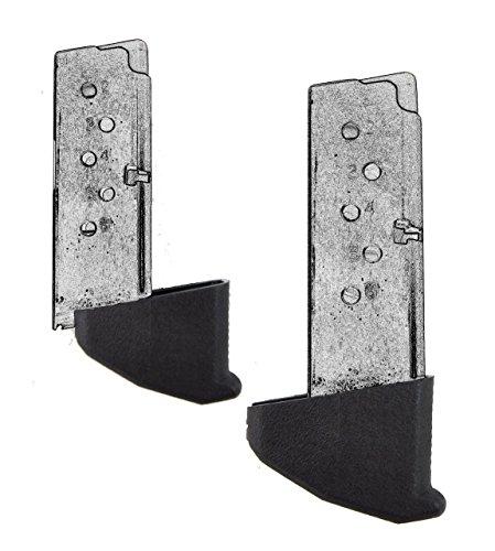 AmeriGun Club Grip Extension for Taurus PT738 TCP 380 & PT732 1.25 Extra Long /AG003 (2 Packs)