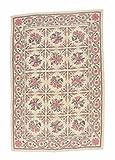 Nain Trading Kelim Soozani 274x183 Orientteppich Teppich Beige/Rot Handgeknüpft China