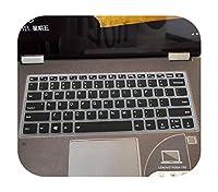 For Lenovo Ideapad C340 14インチC340-14API c340-14iwl C340 14API 14IWLのシリコンノートブックキーボードカバースキンプロテクター-black-