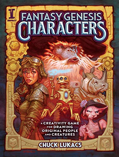 Fantasy Genesis Characters: A creativity game for drawing original people and creatures