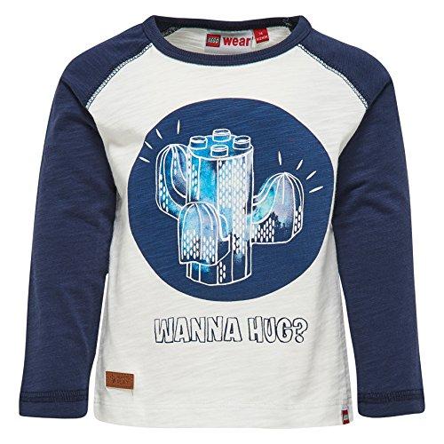 Lego Wear Lego Duplo Boy Texas 309-Langarmshirt T-Shirt, Blau (Blau (Dark Navy 589) 589), 80 cm Bébé garçon