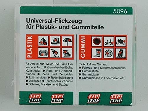 Universial Flickzeug Set von Tip Top für Gummi und Plastik