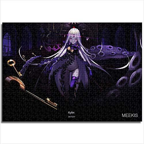 CELLYONE 1000-teiliges Puzzlespiel für Kinder Die Ketten des Schicksals Puzzles mit hoher Auflösung, Druck, Spiel, Geschenk (38 x 26 cm)
