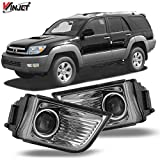 Winjet Compatible with [2003 2004 2005 Toyota 4Runner] Driving Projector Fog Lights