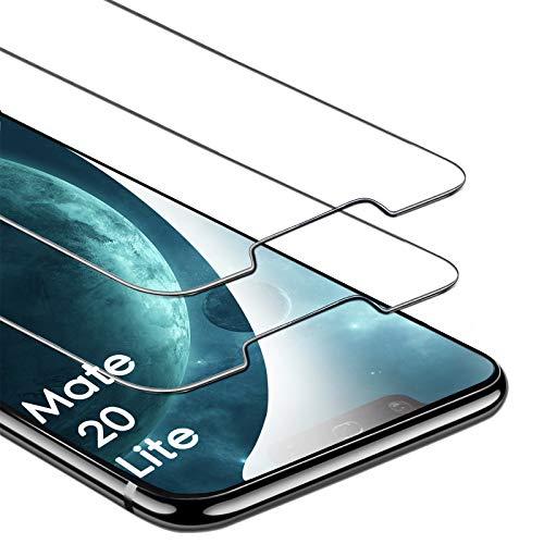 FUMUM Panzerglas kompatibel mit Huawei Mate 20 Lite Folie [2,5D],Premium 9H Gehärtetes Glas Schutzfolie für Huawei Mate 20 Lite Bildschirmschutzfolie [Anti Fingerabdruck] [Anti-Bläschen] (Transparent)