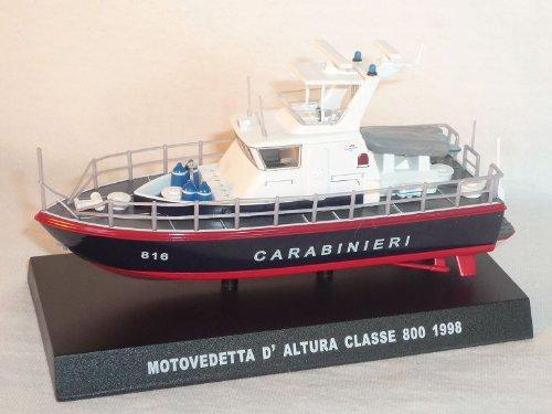 motorboot Motor Boot 1998 Carabinieri 1/43 De Agostini Modellauto Modell Auto
