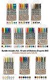 Tim Holtz Bundle of 60 Distress Crayons | All 10 Sets | Set 1, 2, 3, 4, 5, 6, 7, 8, 9, 10