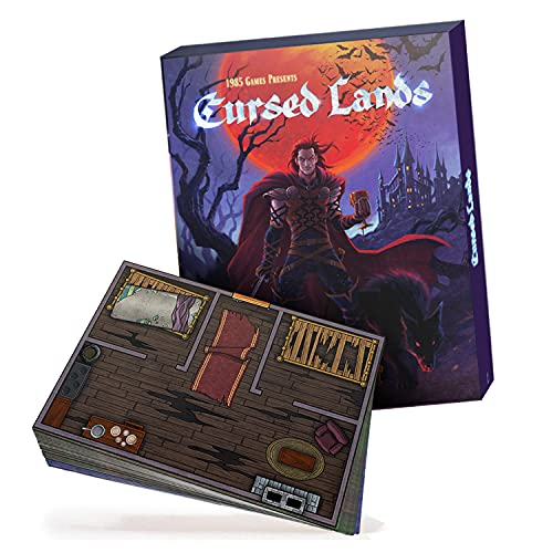 Cursed Lands Board Game Terrain Tiles