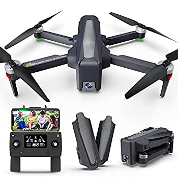 FANCOOL 4000ft FPV Drones with Camera for Adults UHD 4K&1080p Anti-Shake Cam Drone 5GWifi GPS Transmitter Live Video up to 60 Min Long Flight Time Professional Follow Me Drone Auto Return