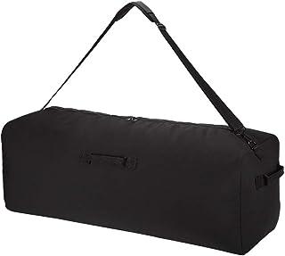 حقيبة قماش من القماش الكتاني مقاس 91.44 سم، حقيبة دفل كبيرة جدًا للسفر والرياضة والتخييم
