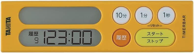 TANITA TD-384//Y Digital Kitchen Cooking Timer Alarm Count Up Down TD384 Yellow TD-384-YL