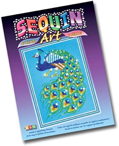 KSG Roos 0714 - Sequin Bead Art Pfau