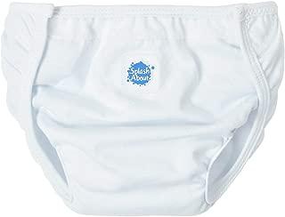 Happy Nappy Splash About Cotton Nappy Wrap, X-Large/XX-Large, White