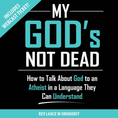 My God's Not Dead audiobook cover art