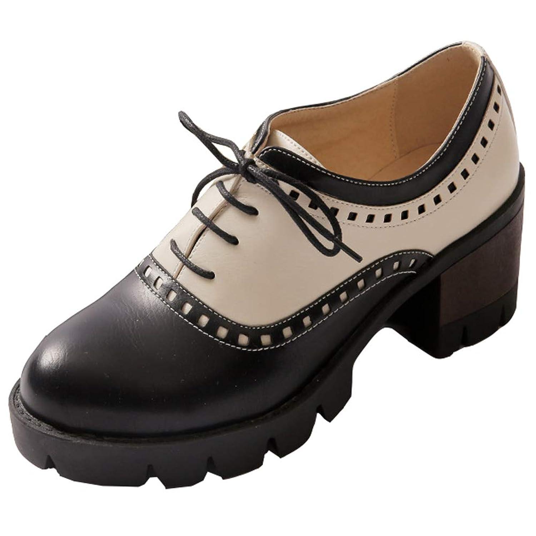 [Ywnz-eight] オックスフォードシューズ 厚底 マニッシュ フォーマル シューズ レディース シューズ マニッシュ 靴 レディース レースアップ ローファー 学生 痛くない ローファー 学生 ヒール 履きやすい 通勤