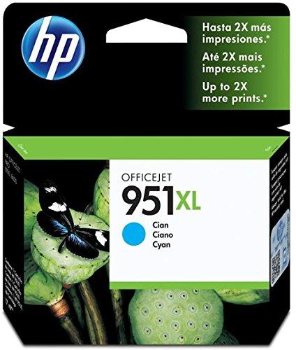 HP 951XL Blau Original Druckerpatrone mit hoher Reichweite für HP Officejet Pro 276dw, 8600, 8610, 8620, 251dw, 8100
