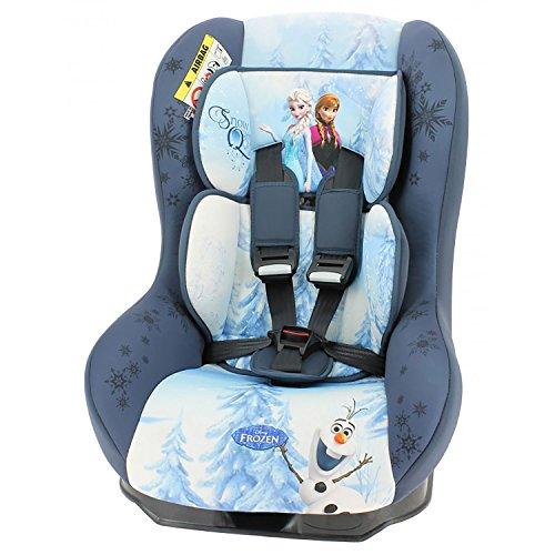 Mycarsit Siège Auto Disney, Groupe 0+/1 (de 0 à 18 kg), Motif Frozen Reine des Neiges
