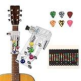BELIOF Sistema di apprendimento degli accordi per chitarra Classica chitarra elettrica acu...