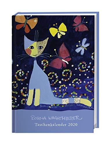 Rosina Wachtmeister Kalenderbuch A7. Taschenkalender 2020. Wochenkalendarium. gebunden. Format 7,9 x 11 cm