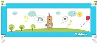 WANNA.ME Bebé Parque Infantil Bebé Anti-caída Cama barandilla elevación Vertical Cerca bebé Cama abatible Lado Deflector (un Lado) Fuerte y Duradero/Hecho de no-a (Color: B, Tamaño: 120X80cm)