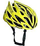 AWE AWESpeed In-Mould Helm Erwachsene Männer Straßen-Radsport 55-58cm Neon