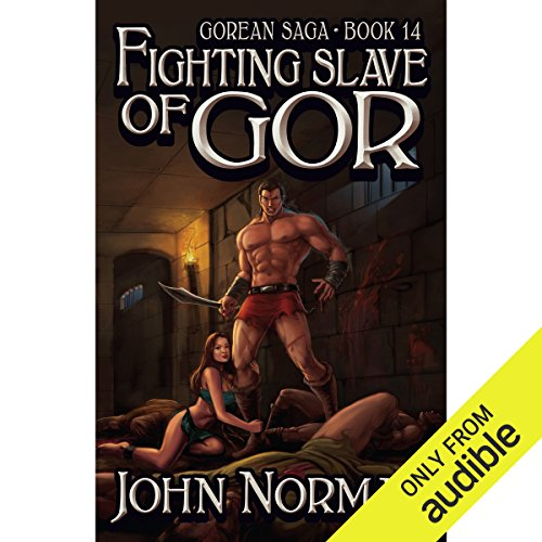 Fighting Slave of Gor audiobook cover art