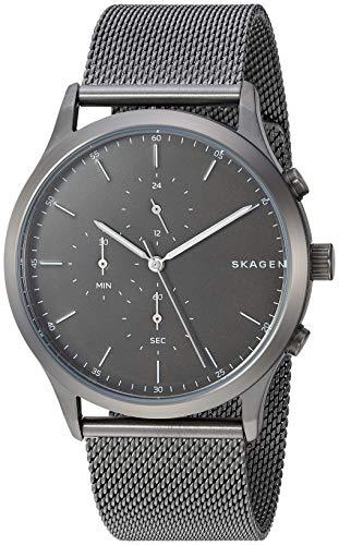 Skagen Men's Jorn SKW6476 Grey Stainless-Steel Japanese Quartz Dress Watch