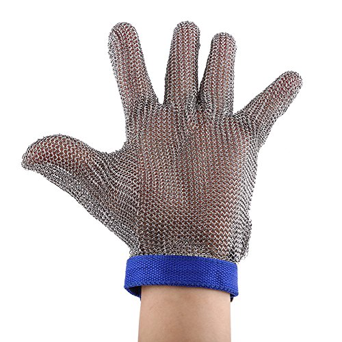 304L stainless steel mesh Cut Resistant di catena mail...