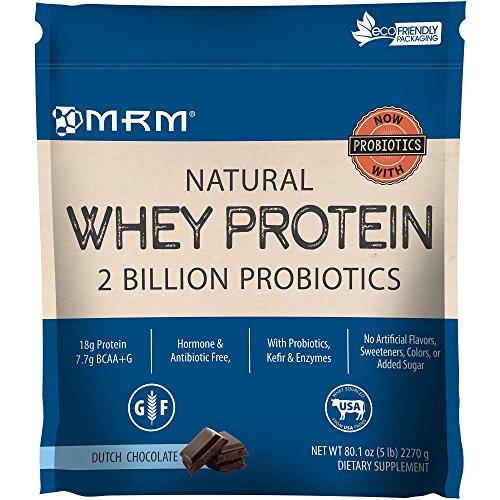 MRM - Natural Whey - 100% Premium Whey Protein Chocolate 5 lbs