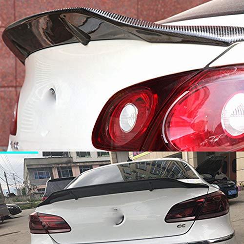 AniFM Carbon Heckspoiler für Volkswagen VW Passat CC Standard 2009-2018 Heckspoiler, Echt Carbon mit High-End Qualität