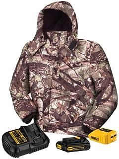 DEWALT DCHJ062C1-S 20V/12V MAX Camo Heated Jacket Kit, Small