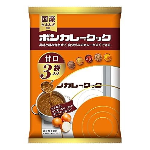 大塚食品 ボンカレークック甘口 450g(150g×3袋)