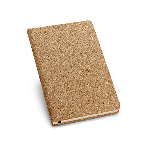 Notizbuch aus Kork in Größe A6. Notizheft A6 Cover aus einzigartigen handgefertigten Kork, Hergestellt in Portugal von Mr. Kork