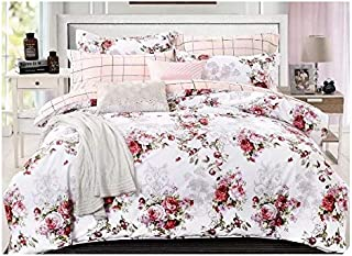 Popular Designs Including Six Pieces Cotton Quality Bedding Sets Duvet Covers Bed Sheets Comforter Covers