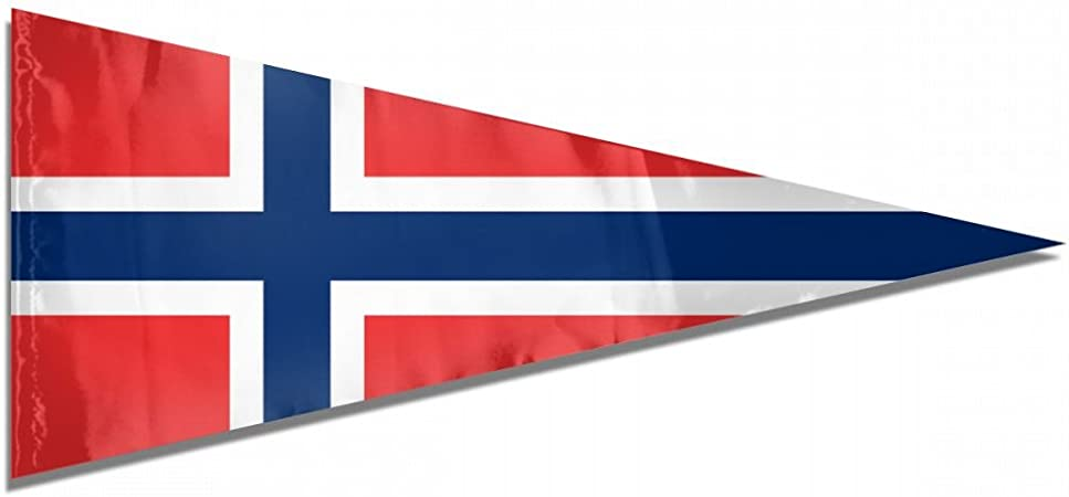 12 Flags Triangular Norway 5M Triangle Flag Bunting