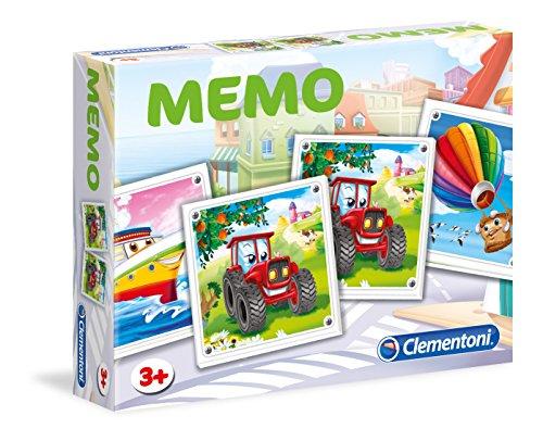 Clementoni - 52096 - Mémo Véhicules