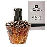 Lampair Millefiori Milano Lampada catalitica profumata in Vetro Mosaico Crackle Brown – L'Originale dall'Italia – Lampada di Alta qualità