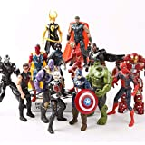 Siyushop Helden-Action-Figuren - Heldenfiguren-Modell-Set , Heldenpuppe Ornamente Handmodell...