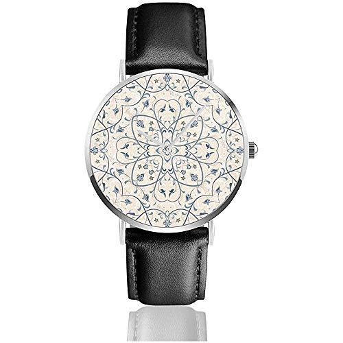 Reloj de Pulsera, Alfombra de Color Persa Imagen Vectorial Negocio Casual Moda...