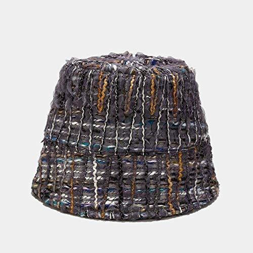 NOSSON Sombrero de Pescador de Encaje de Malla de Color de Little Xiangfeng Sombrero de Cubo de...