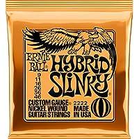 【国内正規輸入品】ERNIE BALL アーニーボール エレキギター弦 #2222 HYBRID SLINKY 6SET ハイブリッド・スリンキー 6セット