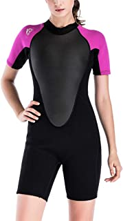 Zhhlaixing Shorty Womens Wetsuit Winter Snorkeling Suit Beachwear - One-Piece Jumpsuit Summer Swimming Diving Wear