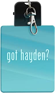 got hayden? - LED Key Chain with Easy Clasp